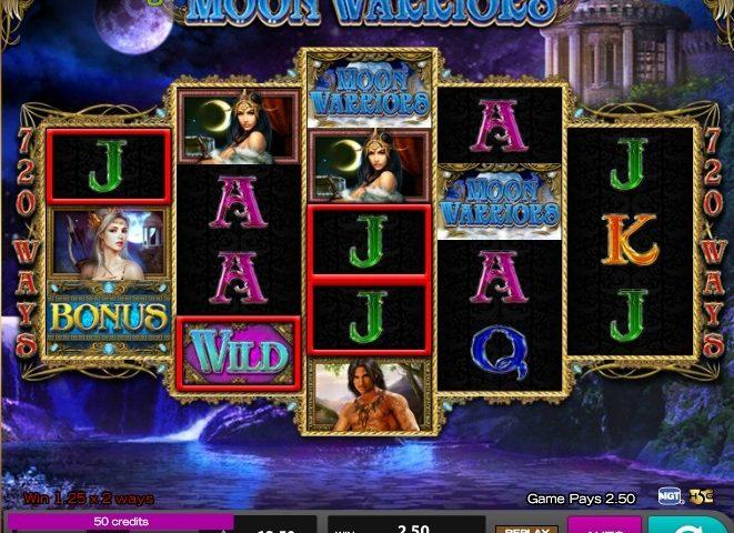 Moon Warriors Slot Machine